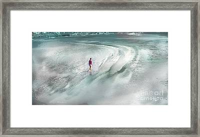 Fin Del Verano Framed Print