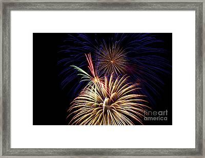 Fireworks 2016 Framed Print