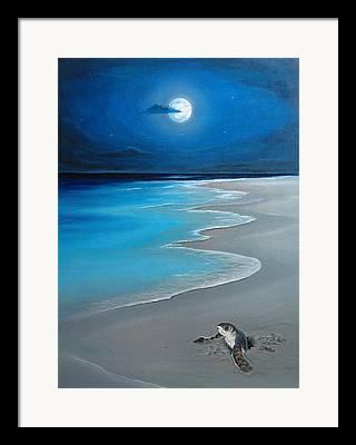 Playa Del Carmen Artista Framed Prints