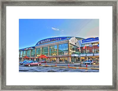 First Niagara Center Framed Print