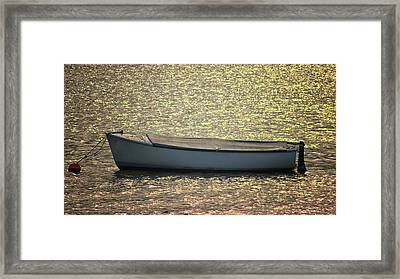 Fishing Boat Framed Print by Martin Newman