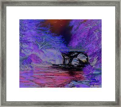 Flow Gently Framed Print by Irish Art
