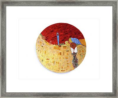 Follow Me Framed Print by Ronex Ahimbisibwe