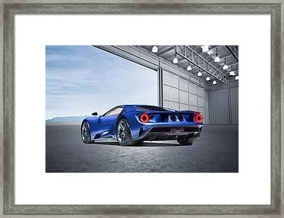 Ford Gt Framed Print