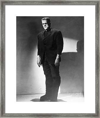 Frankenstein, 1931 Framed Print