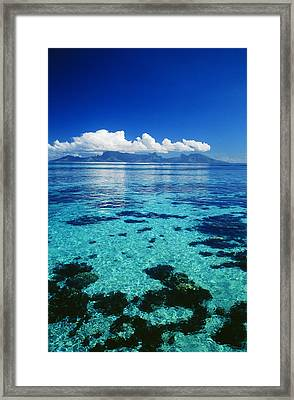 French Polynesia, Moorea Framed Print by Dana Edmunds - Printscapes