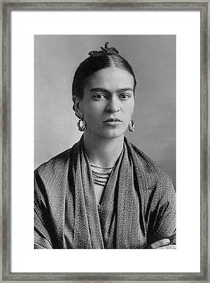 Frida Kahlo Framed Print by Pg Reproductions