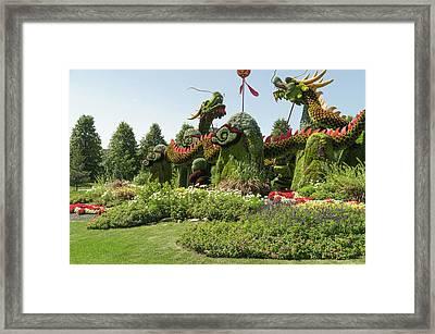 From Beijing Is  Blessing Of The Good Omen Dragons 3 Framed Print