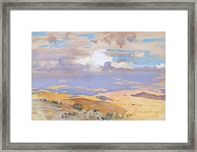 From Jerusalem Framed Print by John Singer Sargent