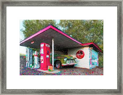 From The Past Framed Print by Jon Glaser