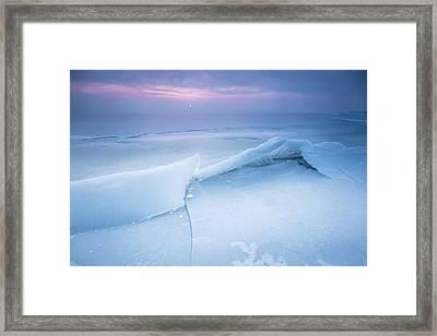 Frozen Framed Print by Davorin Mance