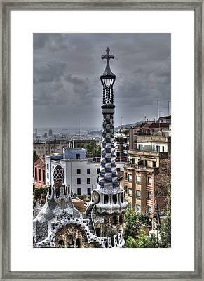 Gaudi's Church Framed Print