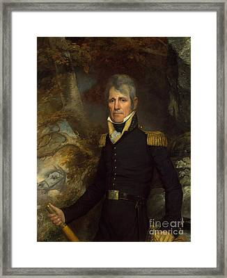 General Andrew Jackson Framed Print