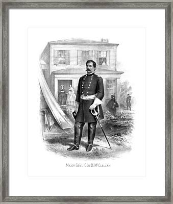 General George Mcclellan Framed Print