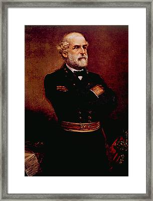 General Robert E. Lee 1807-1870 Framed Print by Everett