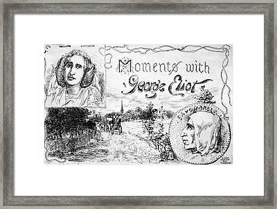 George Eliot (1819-1880) Framed Print by Granger