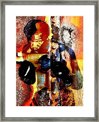 George Foreman Collection Framed Print