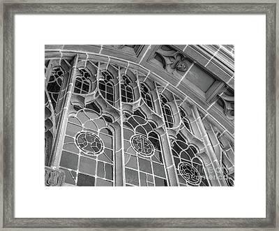 Georgetown University Healy Hall Framed Print
