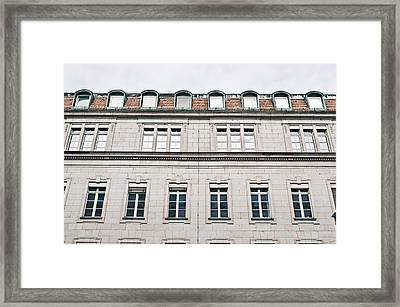 German Building  Framed Print by Tom Gowanlock