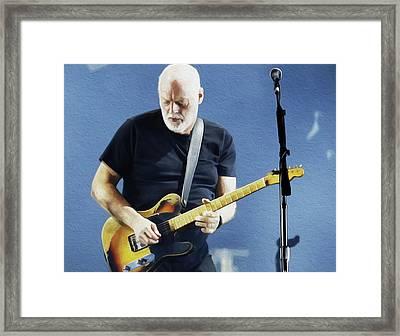 Gilmour By Nixo Framed Print