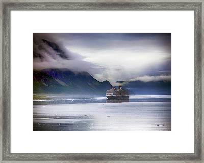 Glacier Bay Alaska Framed Print