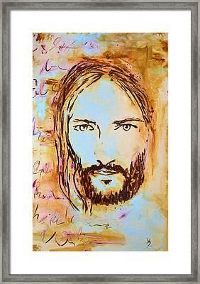God Loves You Framed Print