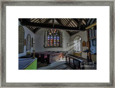 Gods Light Framed Print