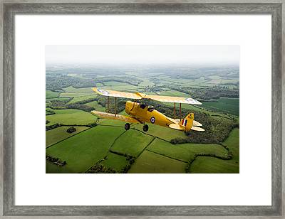 Framed Print featuring the photograph Going Solo by Gary Eason