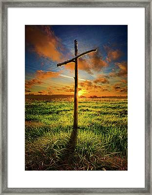 Framed Print featuring the photograph Good Friday by Phil Koch
