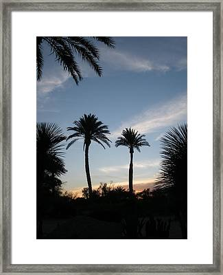Good Morning Framed Print by Jeanette Oberholtzer