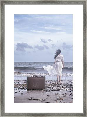 Goodbye Framed Print