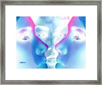 Gossip Framed Print by Seth Weaver