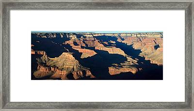 Grand Canyon National Park At Sunset Framed Print by Pierre Leclerc Photography