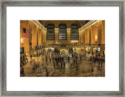 Grand Central Station Framed Print