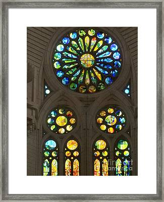 Graphic Art From Photo Library Of Photographic Collection Of Christian Churches Temples Of Place Of  Framed Print by Navin Joshi