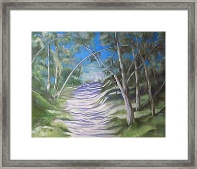 Green Cathedral Framed Print