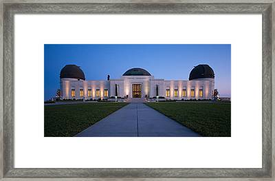 Griffith Observatory Framed Print by Adam Romanowicz