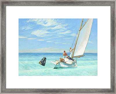 Ground Swell Framed Print