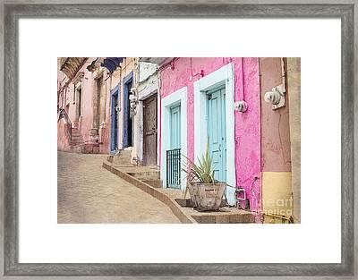 Guanajuato Mexico Framed Print