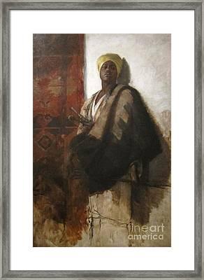 Guard Of The Harem  Framed Print