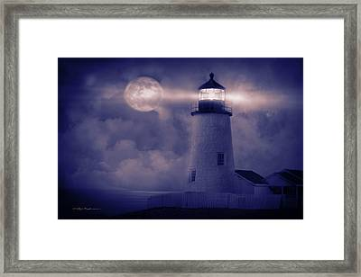 Guiding Lights Framed Print by George Robinson
