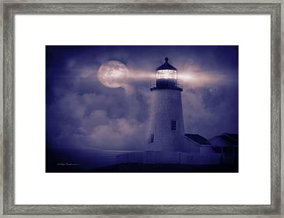Guiding Lights Framed Print