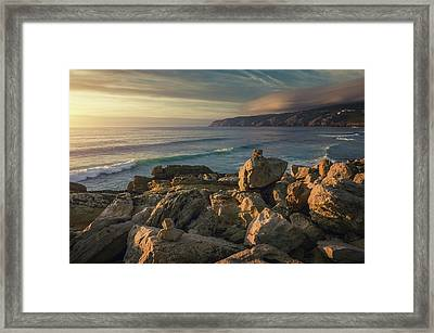 Guincho Beach Framed Print by Carlos Caetano
