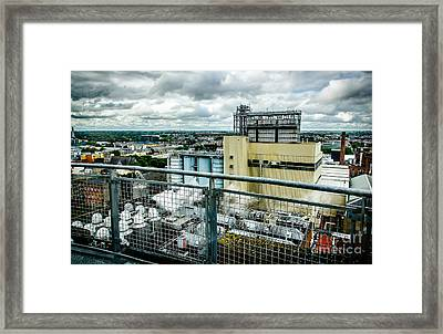 Guinness Brewery In Dublin Framed Print by RicardMN Photography