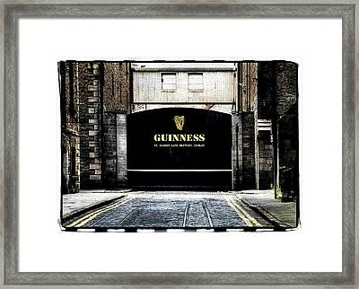 Guinness Framed Print by David Harding