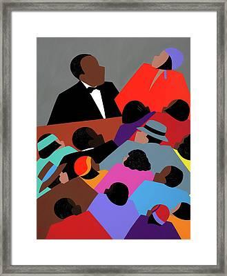 Harlem Renaissance Aka Jazzed Framed Print