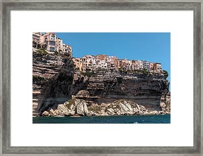 Haute Ville Bonifacio - Corsica Framed Print