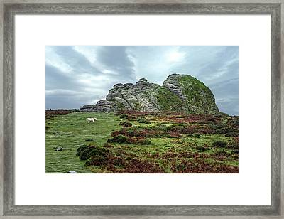 Haytor Rocks - Dartmoor Framed Print
