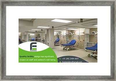 Healthcare Consulting Firms India Framed Print