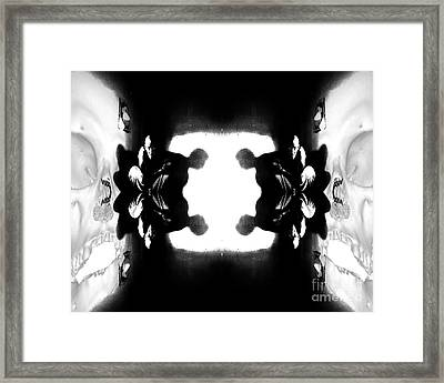 2 Hide From Death Framed Print by Jack Norton